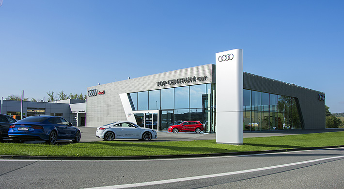 Audi terminal Top centrum car Kyjov